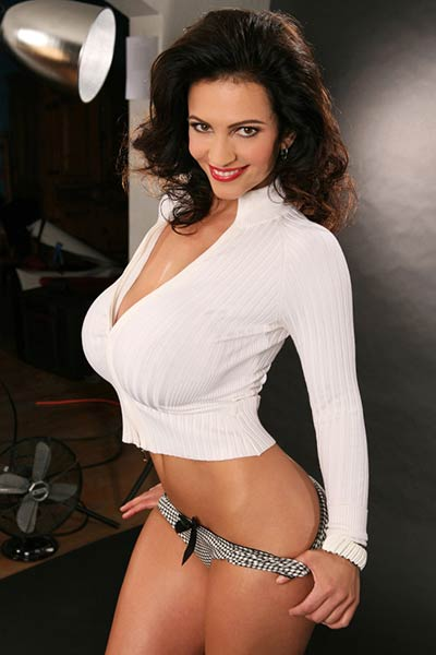 Model Denise Milani in
